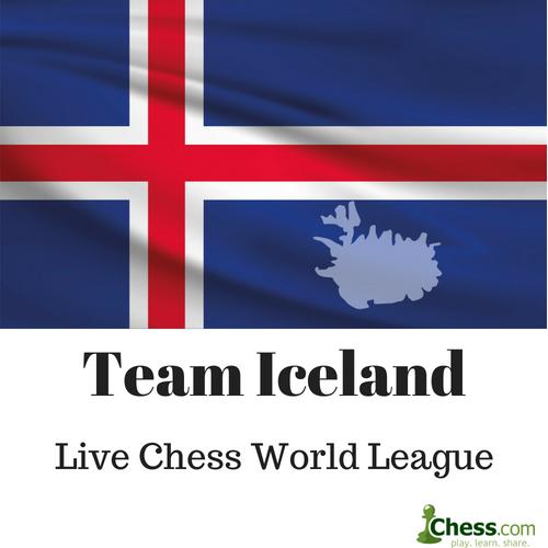 Vináttuleikur: Team Iceland gegn Team India @ chess.com