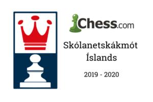 Skólanetskákmót Íslands 2019-20 @ Chess.com