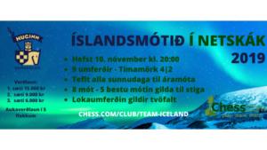 Íslandsmótið í netskák 2019 - 6. umferð @ chess.com
